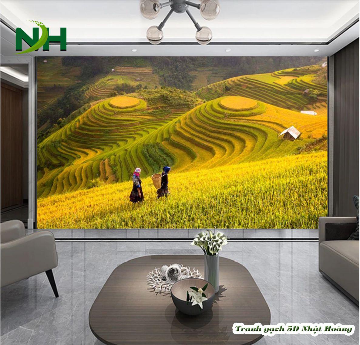 tranh dán tường 3D mệnh Kim